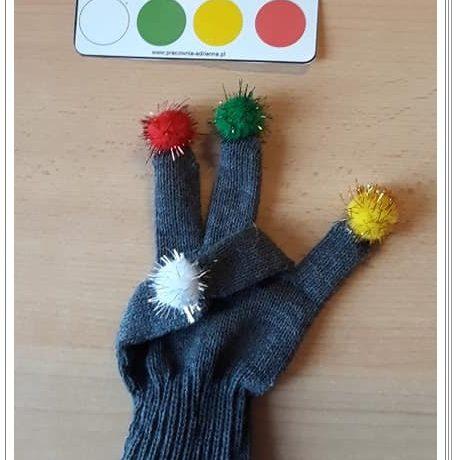Terapia ręki – z pomponami ;-)