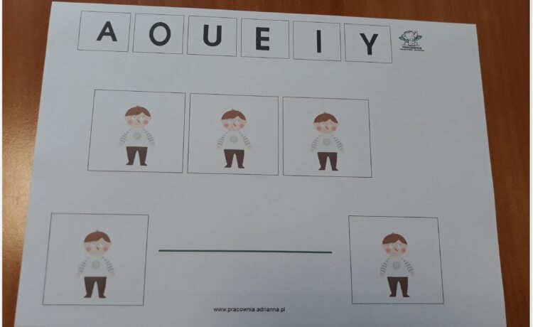 Ćwiczenia fonacyjne na samogłoskach