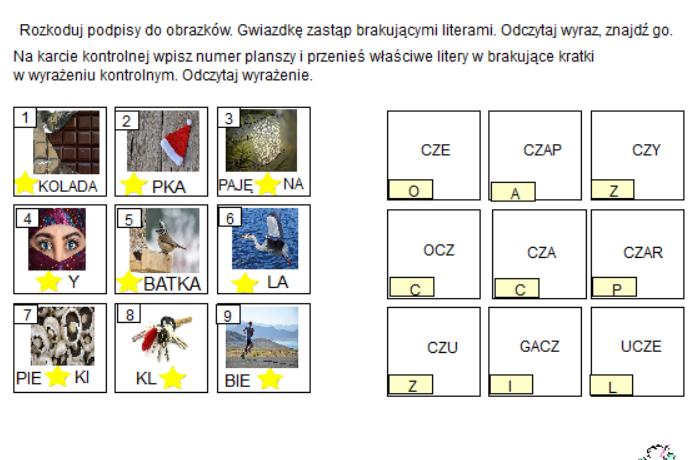 Terapia głoski CZ – pakiet [CZ1].